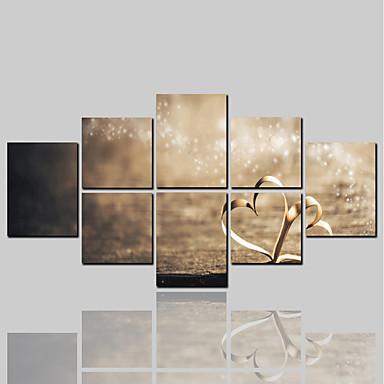 zrolowane wydruki na płótnie comtemporary klasyczne nowoczesne, ponad pięć paneli na płótnie poziome dekoracje ścienne dekoracje do domu