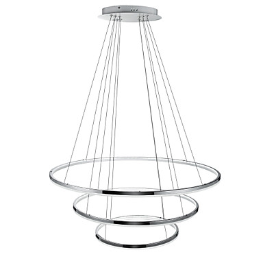 Sirkelformet Anheng Lys Nedlys - Mini Stil, LED, 110-120V / 220-240V, Varm Hvit / Kald Hvit / Dimbar med fjernkontroll, LED lyskilde