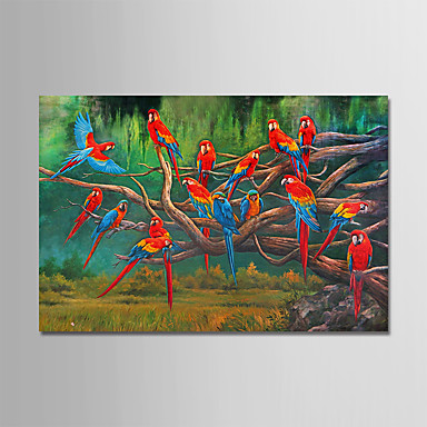 Oil Painting Hand Painted   Landscape Modern Rolled Canvas