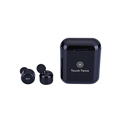 X3T Douszny / Słuchawki Bluetooth / Słuchawka Bluetooth 4.1 Słuchawki Hybryda Plastik Pro Audio Słuchawka Mini / Stereo / Izolacja akustyczna Zestaw słuchawkowy