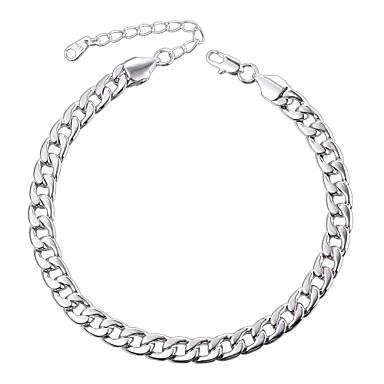 voordelige Dames Sieraden-Heren Dames Enkelring Dames Modieus Enkelring Sieraden Zilver / Goud Rose Voor Dagelijks
