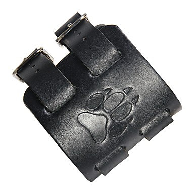 voordelige Herensieraden-Heren Lederen armbanden Rock Leder Armband sieraden Zwart / Bruin Voor Straat Club