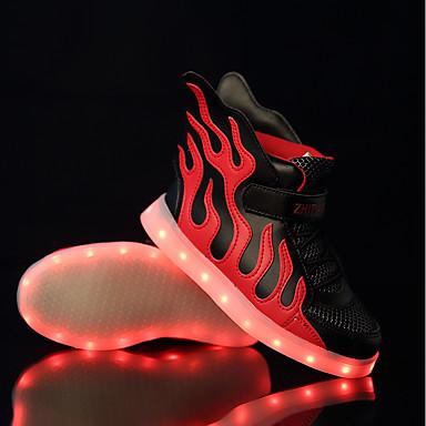 povoljno Cipele za djevojčice-Dječaci / Djevojčice Til / PU Sneakers Mala djeca (4-7s) / Velika djeca (7 godina +) Svjetleće tenisice LED Crno / crvena / Crna / Green / Bijela / plava Proljeće / Vjenčanje / TR