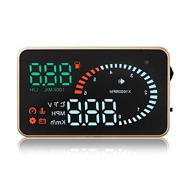 voordelige Automatisch Electronica-X6 3.5 inch(es) LED Bekabeld Head Up Display LED-indicator / Plug & play / Multifunctioneel display voor Automatisch / Bus / Truck Meet de rijsnelheid / Rijsnelheid / Weergave KM / h MPH