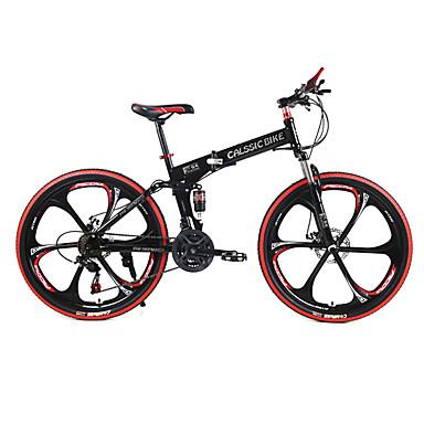 Geländerad / Falträder Radsport 21 Geschwindigkeit 26 Zoll / 700CC SHIMANO TX30 Doppelte Scheibenbremsen Federgabel Hintere Federung gewöhnlich Stahl / #