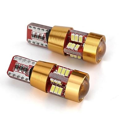 2 szto. T10 Samochód Żarówki 2 W 55 lm 6 LED Akcesoria Na Univerzál Wszystkie modele Wszystkie roczniki