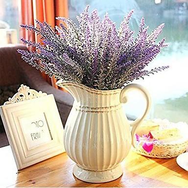 Sztuczne Kwiaty 1 Gałąź Styl nowoczesny Jasnoniebieski Bukiety na stół