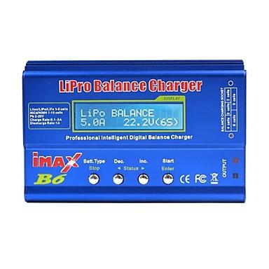 billige Deler og tilbehør til radiostyrte enheter-iMAX B6 Digital RC Lipo NiMH battery 4stk batteri Metall