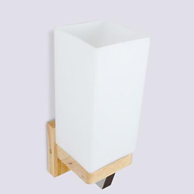 Antyrefleksyjny Nowoczesny Oświetlenie łazienkowe Drewno / Bambus Światło ścienne 220-240V 40 W / E27