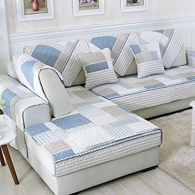 sofa Poduszka Geometryczny Drukowane Bawełna / Poliester slipcovers