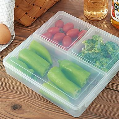 Organizacja kuchni Skrzynki magazynowe Plastik Łatwy w użyciu 1szt