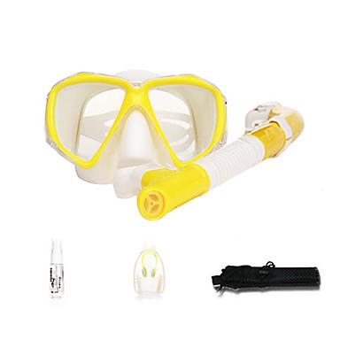 Pacotes de Mergulho / Kit para Snorkeling - Snorkel, Máscara de mergulho - Protecção Mergulho, Natação Neoprene, Fibra de Vidro Para