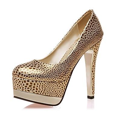 Soirée à Evénement Chaussures Femme Talon Bottier Similicuir Printemps Talons rond Confort Chaussures Noir Bout amp; 06680792 Or Rouge nUxax6q
