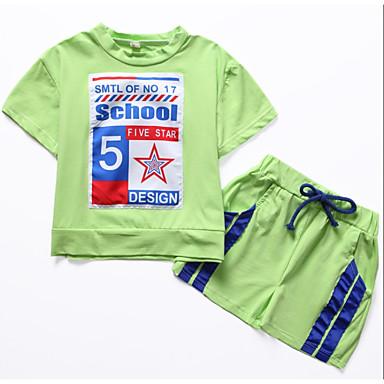 Copii Băieți Peteci Manșon scurt Set Îmbrăcăminte