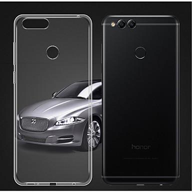 Maska Pentru Huawei Honor 7X Transparent Capac Spate Mată Moale TPU pentru Honor 7X
