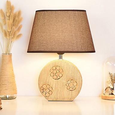 Modern / Contemporan Decorativ Veioză Masă Pentru Lemn / bambus 220-240V