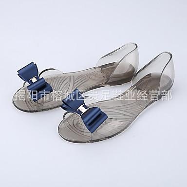 Champaña PVC Real Goma 06681450 De Azul Cuadrado Zapatos Punta verano Primavera Mujer abierta Tacón Sandalias Borgoña 5Swp6qW