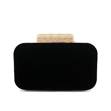 9741401815 Γυναικεία Τσάντες Τερυλίνη Βραδινή τσάντα Κουμπί Μαύρο