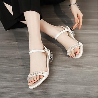 Personnalisées Bout Beige Bleu Rose Matières clair Talon Confort Printemps Automne été Chaussures Sandales Bottier 06669361 Femme ouvert vHwxgv