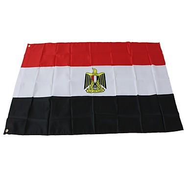 Dekoracje świąteczne Mistrzostwa Świata / Wydarzenia sportowe Flagi Egipt 1 szt.