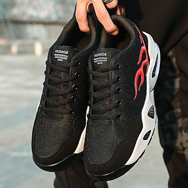 Rojo Confort Zapatillas 06679163 blanco Negro redondo Atletismo y Running Oro Verano Tul PU Tacón de Dedo Mujer Negro Plano Zapatos Negro XqIgHwgR
