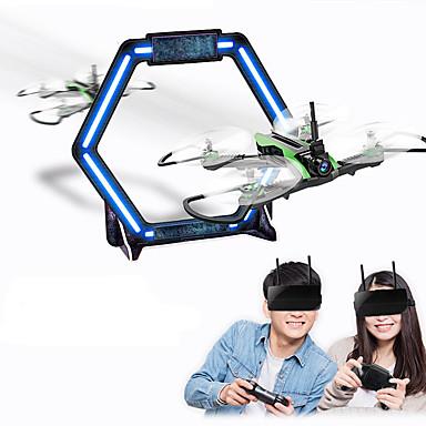 billige Fjernstyrte quadcoptere og multirotorer-RC Drone Flytec H825 BNF 4 Kanaler 6 Akse 5.8G Med HD-kamera 0.3MP 480P Fjernstyrt quadkopter En Tast For Retur / Hodeløs Modus Fjernstyrt Quadkopter / Fjernkontroll / 1 USD-kabel / 120 grader