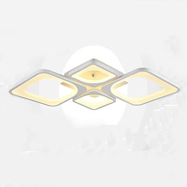 4-Licht Unterputz Deckenfluter Lackierte Oberflächen Metall LED 110-120V / 220-240V Wärm Weiß / Weiß Inklusive Glühbirne / integrierte LED / FCC / VDE