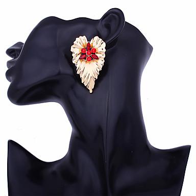 Kolczyki sztyfty - Serce Duże, Moda Czerwony / Niebieski / Różowy Na Impreza / Wieczór Codzienny