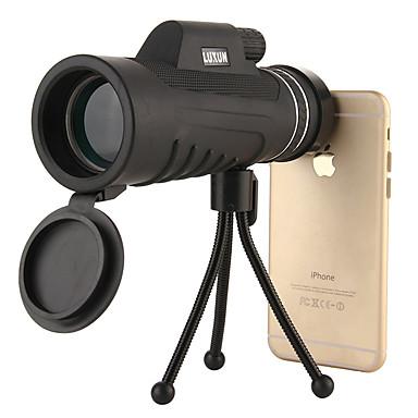10 X 40 mm Jednooczny Wodoodporny / Odporność na strząsy / Night Vision Czarny Łowiectwo / Kemping / turystyka / eksploracja jaskiń / Tak
