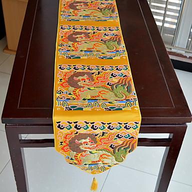 Współczesny PVC Kwadrat Bieżniki Wzorzyste Dekoracje stołowe 1 pcs