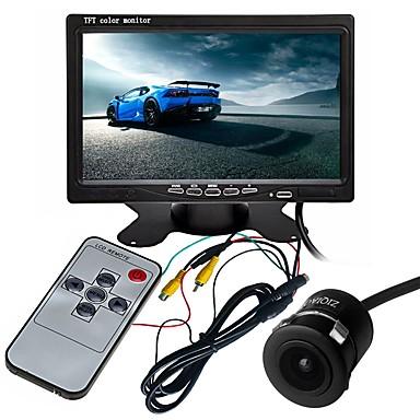 voordelige Automatisch Electronica-ziqiao 7 inch tft-lcd ccd multifunctioneel display / 170 graden waterdichte auto achteruitrij-kit