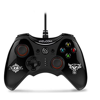 WE-888S Przewodowy / a Kontrolery gier Na Android / PC Wibracja Kontrolery gier ABS 1pcs jednostka USB 2.0