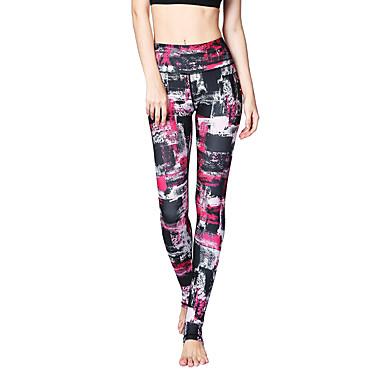Mulheres Calças de Yoga Esportes Moderno Cintura Alta Meia-calça / Leggings Corrida, Fitness, Ginásio Roupas Esportivas Respirável, Secagem Rápida, Power Flex Elasticidade Alta / Inverno