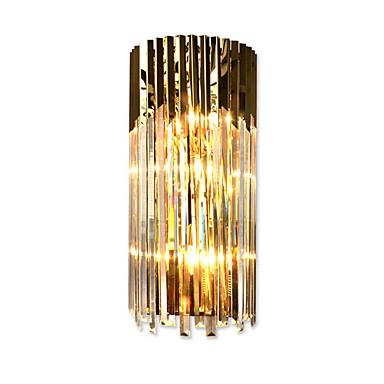 QIHengZhaoMing Kryształ / Ochrona oczu Modern / Contemporary Lampy ścienne Living Room / Gabinet / Office Metal Światło ścienne 110-120V