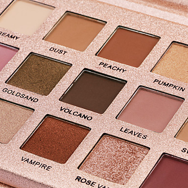 Makeup 18 Colors Eyeshadow / Eyeshadow Palette Eye / Dressing up Professional / Best Quality Waterproof Long Lasting Sweatproof Daily Makeup / Halloween Makeup / Party Makeup 1160 Cosmetic / Matte