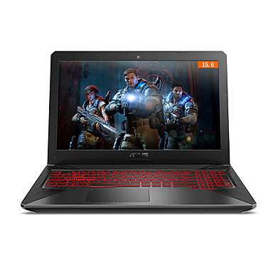 ASUS Laptop caiet FX80GE8750 15.6 inch IPS Intel i7 i7-8750 8GB DDR4 1TB / SSD 128GB GTX1050Ti 4 GB Windows 10