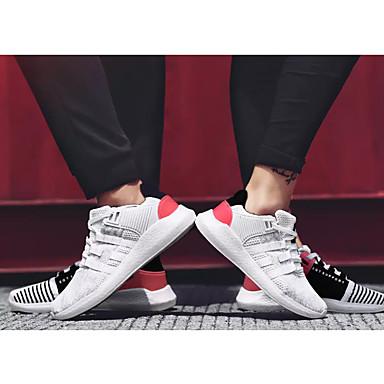 Noir 06679785 Course Plat Confort d'Athlétisme blanc Talon Noir à Pied Rose Femme Automne Bout Printemps Chaussures Tulle et rond Chaussures P0HqAUx