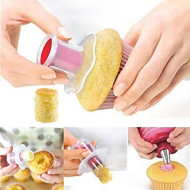 Dekorationsværktøj Tærte Småkage Kage Plast Høj kvalitet