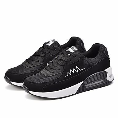Rose Printemps Pied Course Chaussures Noir respirante Chaussures Confort Plat Femme Automne Talon Blanc à Grille 06665227 d'Athlétisme wqZgFnHSx