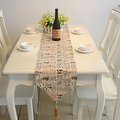 Nowoczesny Polichlorek winylu Kwadrat Bieżniki Wzory Dekoracje stołowe 1 pcs