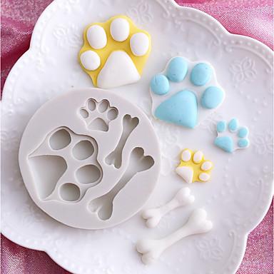 Instrumente de coacere Silicon Nuntă / Desene 3D / Creative Tort / Ciocolatiu / Pentru ustensile de gătit Rotund Materiale pentru torturi 1 buc