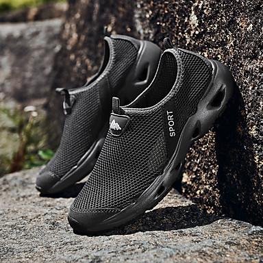 D6148 Confort Chaussons Talon respirante Chaussures 06713689 Gris été Plat Mocassins Printemps et Grille Femme zp1waw