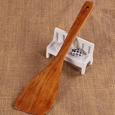 Ustensile de bucătărie Lemn Instrumente de bucatarie Accesorii Simplu / Multifuncțional / Instrumentul de coacere spatula / Spoon Pentru ustensile de gătit 1 buc
