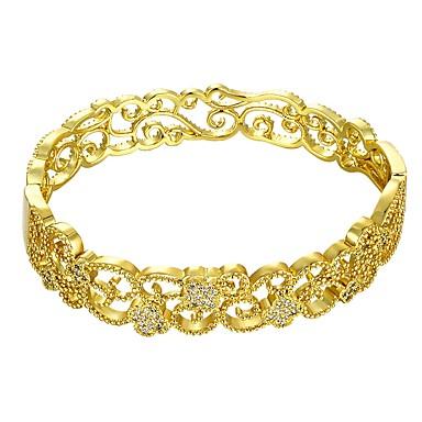 Pentru femei Brățară - Placat Auriu femei, Modă Brățări Auriu / Roz auriu Pentru Cadou Zilnic