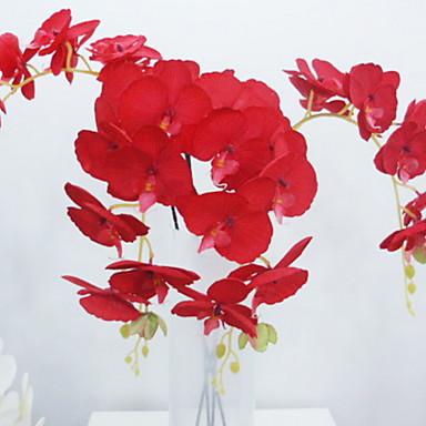 Flori artificiale 1 ramură Clasic Rustic Orhidee Flori Podea