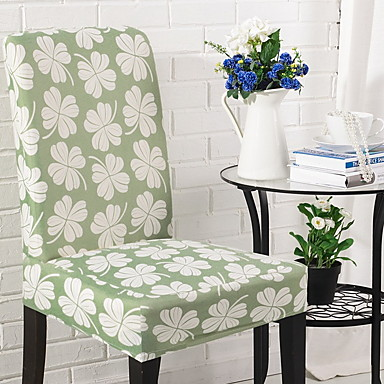 cheap Slipcovers-Chair Cover Floral Jacquard Polyester / Cotton Slipcovers