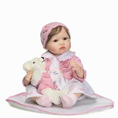 NPKCOLLECTION NPK DOLL בובה מחדש בובת נערה תינוקות בנות 24 אִינְטשׁ סיליקון - כְּמוֹ בַּחַיִים מתנה בטוח לשימוש ילדים Non Toxic ציפורניים אטומות וחותמות עור טבעי הילד של בנות צעצועים מתנות