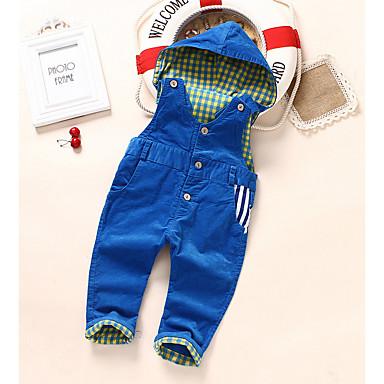 رخيصةأون بنطلونات الرضع صبيان-أفرول قطن طباعة أساسي / أناقة الشارع للصبيان طفل / طفل صغير