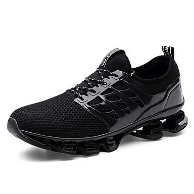 Bărbați Pânză / Tul Vară Confortabili Adidași de Atletism Alergare Negru / Negru / Roșu / Negru / Verde