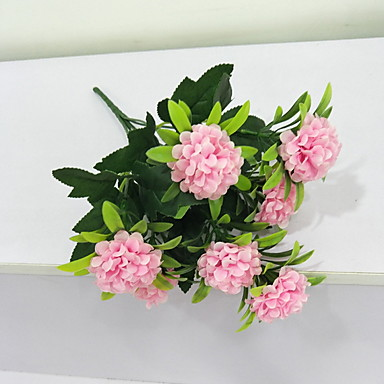 Flori artificiale 1 ramură Clasic Stilat / Rustic Crizantemă Față de masă flori